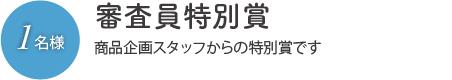 審査員特別賞
